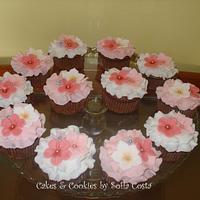 Spring cupcakes! :)