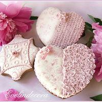 Romantic cookies 💗