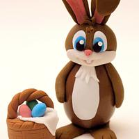 Conigliovetto Pasquale (Chocolate Easter Bunny)