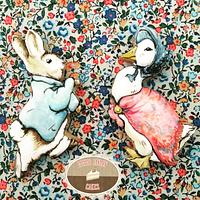 Peter Rabbit and Jemima Puddleduck Cookies