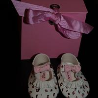 Leopard print Baby shoes by kira