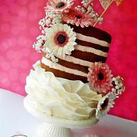 Half Naked Cake