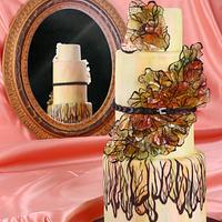Elie Saab Fashion Cake - Cake Central Magazine V.6 Issue 4