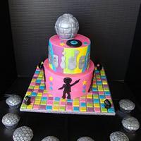 Disco Cake & Cupcakes