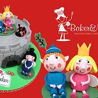 Ben & Holly Little Kingdom Castle Cake
