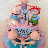 Rugrats 21st Birthday Cake