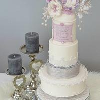 """My Beloved - My Friend, A Purple Christmas Wedding''"