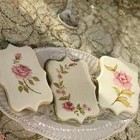 Cookies pintadas a mano