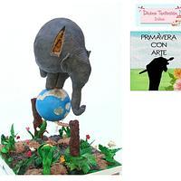 Primavera con arte collaboration by NadiaPedrazaMartinez