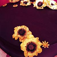 Chocolate cake by Maxine Kristi Morris