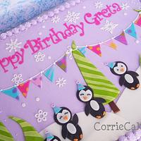 Girly Penguins....again :) by Corrie