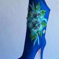 Blue Sugar boot