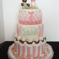 Baby Shower cake by Laurie
