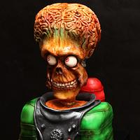 "3D cake by ""Mars Attacs"""