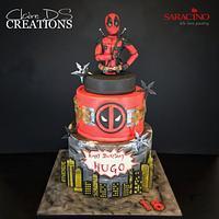 Deadpool Marvel birthdaycake