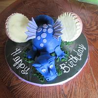 Blue Dragon and Egg