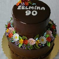 Chocolate cake for grandma