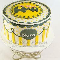 Elephant Shower Cake