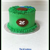 Football Cake by FiasCreations