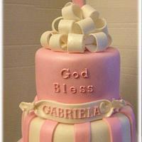 Gabriela's Baptism Cake