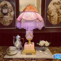 A Sweet Farewell to Downton - Lamp Cake