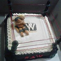 Wrestling Cake