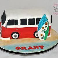 VW Combi Van Cake