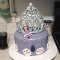 Princess Sofia cake
