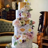 Vintage Baroque and Sugar Flowers
