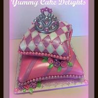 Royal Pillow Cake