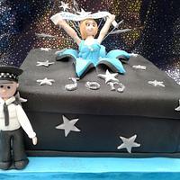 birthday cake for a policeman
