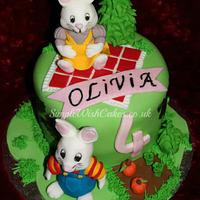"""Max and Ruby"" Birthday Cake"