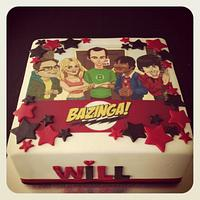 Bazinga! Big Bang Theory Cake