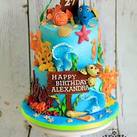 Cake for Alexandra Burke 27th Birthday