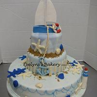 Nautical themed wedding shower