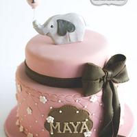 Sweet Elephant & Balloon