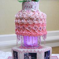 PINK-y cake