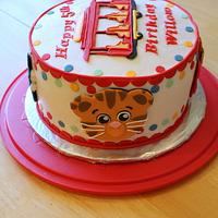 Daniel Tiger's Neighborhood Cake by Michelle