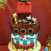 Un anno cake
