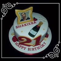 Jason Derulo 21st birthday cake