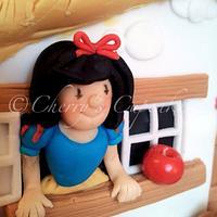 Snow White Cake by Cherry's Cupcakes