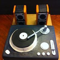 Turn Table Cake