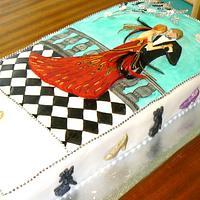 My 50th Birthday Cake by Anita's Cakes