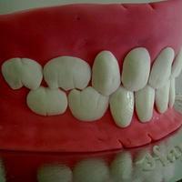 Denture Cake by Gen