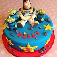 Buzz Lightyear Cake by Sugar Sweet Cakes