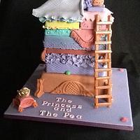 The Princess and The Pea cake