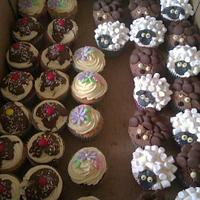 A selection of cakes I made today by Ashdan