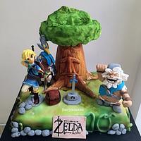 Zelda, the breath of the wild!