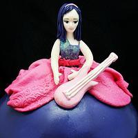 Barbie Keira Cake