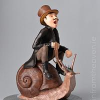 Snail Rider - Steam Cakes - A Steampunk collaboration